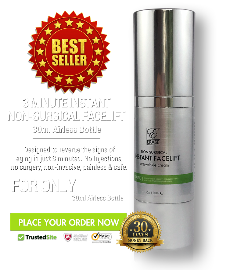 3 Minute Non Surgical Instant facelift